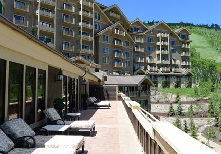 Montage Deer Valley in Park City, Utah has incredible mountain views
