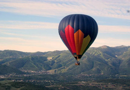 Catch an early-morning flight over the Wasatch Mountain Range with Morning Star Balloons, one of GAYOT's Top 10 Things to Do in Park City in Summer