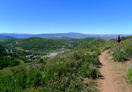 Go mountain biking on the Deer Valley trails, on of GAYOT's Top 10 Things to Do in Park City in Summer