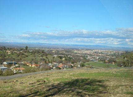 View of Paso Robles Wine Country