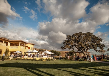 The grounds of Villa San-Juliette Winery in Paso Robles, California