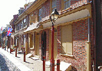 Elfreth's Alley in Philadelphia is the nation's oldest continuously inhabited street