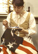 Betsy Ross House, home and burial place of the nation's most famous seamstress