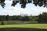 Fairmount Park in Philadelphia, one of the largest urban parks in the U.S.