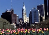 A view of Philadelphia's City Hall