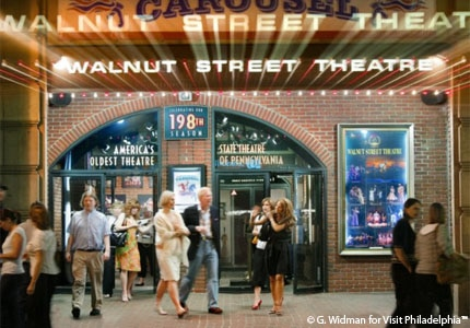 The Walnut Street Theatre in Philadelphia, Pennslyvania