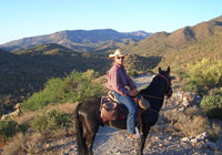 Saddle up at Spur Cross Stables, just north of Cave Creek, Arizona
