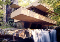 Frank Lloyd Wright's masterpiece country house, Fallingwater