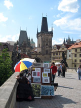 Charles Bridge invites to linger