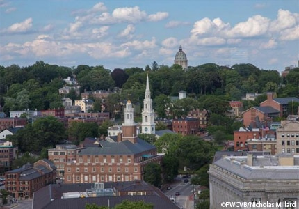 Explore the historic architecture on the East Side of Providence, Rhode Island