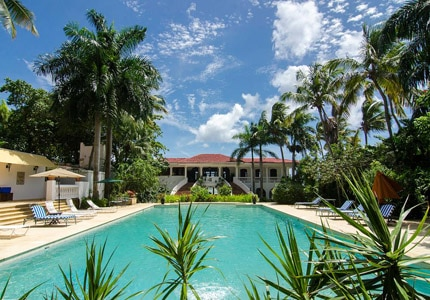 The Horned Dorset Primavera Hotel in Rincon, Puerto Rico