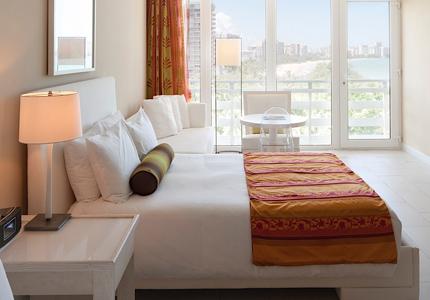 The Main Tower Guest Room at El San Juan Resort & Casino in Puerto Rico