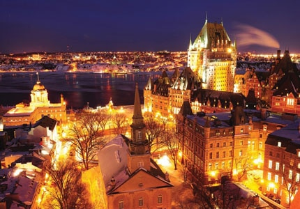 Quebec City in Canada, one of GAYOT's Top 10 Romantic Destinations Worldwide