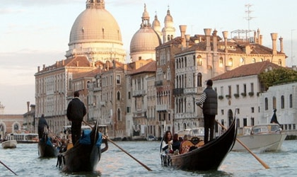 Rekindle your love on a gondola ride in one of our Top 10 Romantic Destinations, Venice