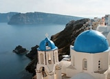 A view in Santorini, Greece