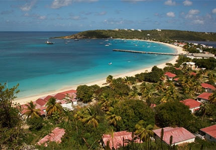 Anguilla in the British West Indies, one of GAYOT's Top 10 Romantic Destinations Worldwide