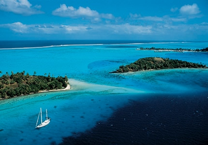 Bora Bora in French Polynedia is one of GAYOT's Top 10 Romantic Destinations Worldwide