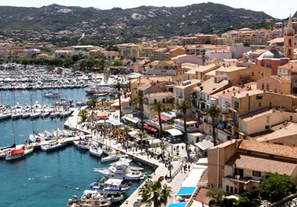 Calvi, home to a thirteenth-century citadel, on the island of Corsica, one of our Top 10 Romantic Destinations Worldwide