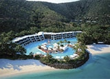 Hayman Island, an Australian vacation spot along the Great Barrier Reef and one of GAYOT's Top Romantic Destinations