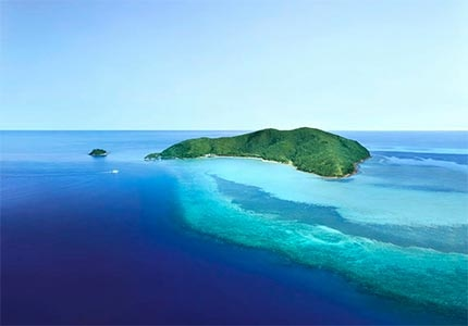 Hayman Island, an Australian vacation spot along the Great Barrier Reef and one of our Top Romantic Destinations