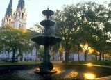 A fountain in Savannah