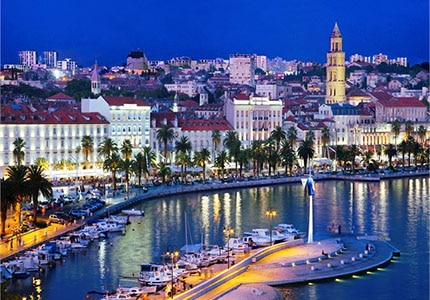 Split in Croatia, one of GAYOT's Top 10 Romantic Destinations Worldwide