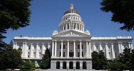 The State Capitol in Sacramento, California