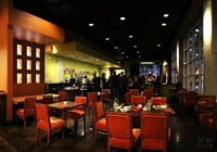 The chic dining room and bar at Tequila Museo Mayahuel in Sacramento
