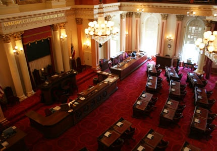 A look inside the State Capitol in Sacramento, California