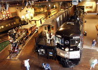 The California State Railroad Museum in Sacramento