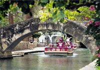 See the entire length of the San Antonio River Walk from the comfort of a river cruise