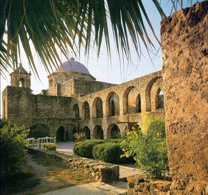 The San Jose y San Miguel de Aguayo mission in San Antonio is one of the best preserved missions in the state