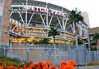 PETCO Park is located in the middle of downtown San Diego