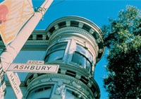 Haight-Ashbury, the famous intersection in San Francisco