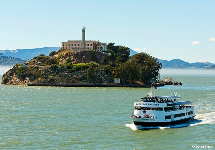 Alcatraz Cruises's Hornblower Hybrid  is America's first hybrid ferry