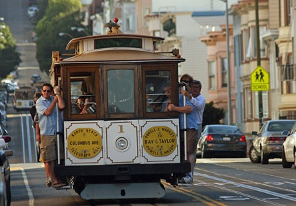 Take a cable car ride, one of GAYOT's Top 10 Things to Do in San Francisco