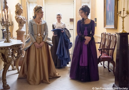 Chloe Sevigny and Kate Beckinsale in Love & Friendship, one of the films to be screened at the 2016 SFIFF