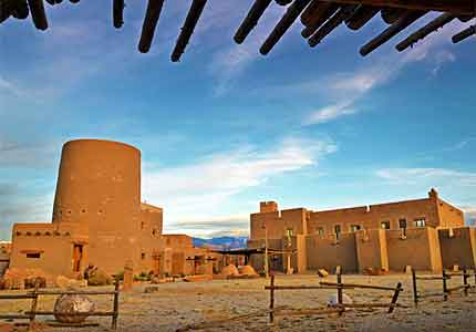 The Poeh Center in Santa Fe educates the public on the Pueblo history and culture of New Mexico