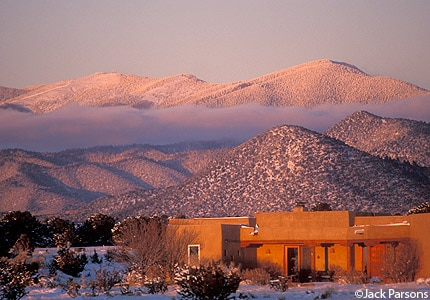 Take a drive into the Sangre de Cristo Mountains in Santa Fe, New Mexico