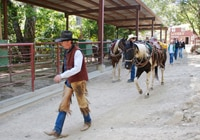 Circle Bar B Guest Ranch offers horseback tours 30 minutes north of Santa Barbara