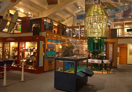 Inside the Santa Barbara Maritime Museum