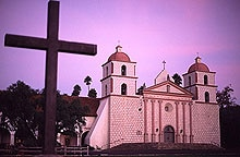 Mission Santa Barbara is still used by the Franciscan order that founded it in 1786