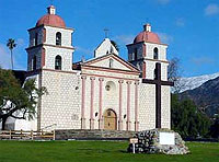 Mission Santa Barbara is one of the area's most iconic attractions