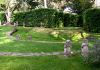 The Theatre Garden at Lotusland in Montecito