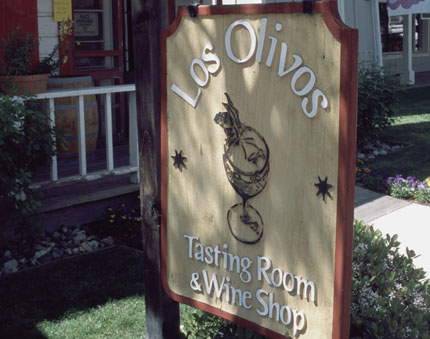 Los Olivos Tasting Room & Wine Shop in California