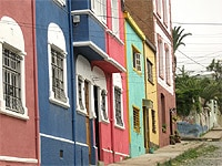 Colorful houses in Valparaiso