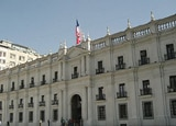 La Moneda, home of the Chilean presidents since 1846