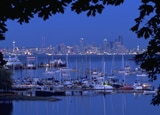 The Seattle Skyline From Bainbridge Island