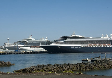 Enjoy the views of Seattle on a cruise
