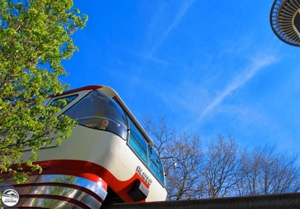 Take a ride on the Seattle Center Monorail